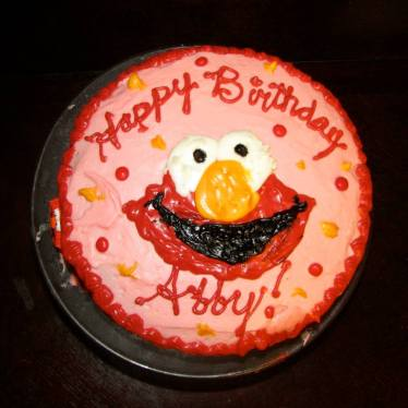 Abby's 2nd birthday, Elmo!